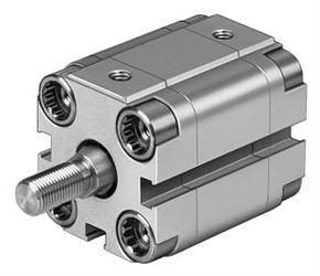 FESTO Compact Cylinder ADVU-25-25-A-P-A 156612 thumbnail image 1