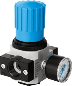 FESTO Air Pressure Regulator LR-1/2-D-MINI 159581 thumbnail image 1