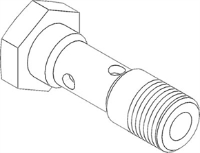 FESTO Hollow Bolt VT-1/8-8626 thumbnail image 1