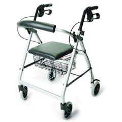 Rollator Walker Four-wheeled Cable Brakes thumbnail image 1