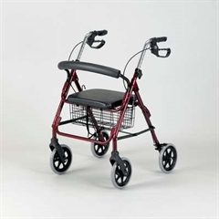 Rollator Walker Four-wheeled Cable Brakes thumbnail image 2