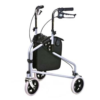 Homecraft Three-Wheeled Rollator with Cable Brakes thumbnail image 2