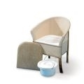Homecraft Bedroom Commode Chair thumbnail image 1