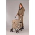 Sholeco Deluxe Mulberry Shopping Trolley thumbnail image 1
