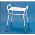 Belmont Shower Stool with Metal Seat thumbnail image 1