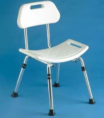 Shower Stool with Contour Seat thumbnail image 1