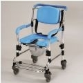 Wheeled Shower and Commode Chair thumbnail image 1