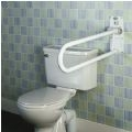 Devon Folding Toilet Support Rail thumbnail image 1