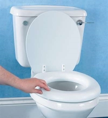 Soft Raised Toilet Seat thumbnail image 1