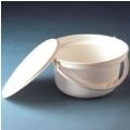 Round Commode Pan with Lid thumbnail image 1