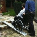 Lightweight Telescopic Portable Wheelchair Ramp thumbnail image 1
