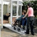 Axcess Telescopic Broad Wheelchair Ramp thumbnail image 1