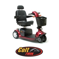 Pride Colt Twin Mobility Scooter thumbnail image 1