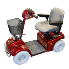 Roma Medical Shoprider Deluxe Mid-Size Mobility Scooter thumbnail image 1