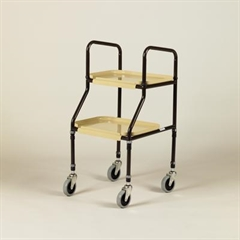 Days Adjustable Height Plastic Shelf Trolley thumbnail image 1