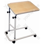 CANTERBURY OVER BED TABLE W/CASTORS thumbnail image 1