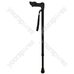 RIGHT HAND 2 SCN WALKING STICK. thumbnail image 1