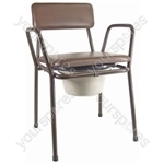 KENT STACKING COMMODE thumbnail image 1