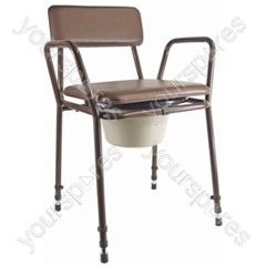 ESSEX STACKING COMMODE. thumbnail image 1