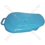 PLASTIC BEDPAN WITH LID thumbnail image 1