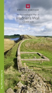 An Archaeological Map of Hadrian's Wall large image 1