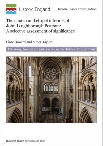 The Church and Chapel Interiors of John Loughborough Pearson large image 1
