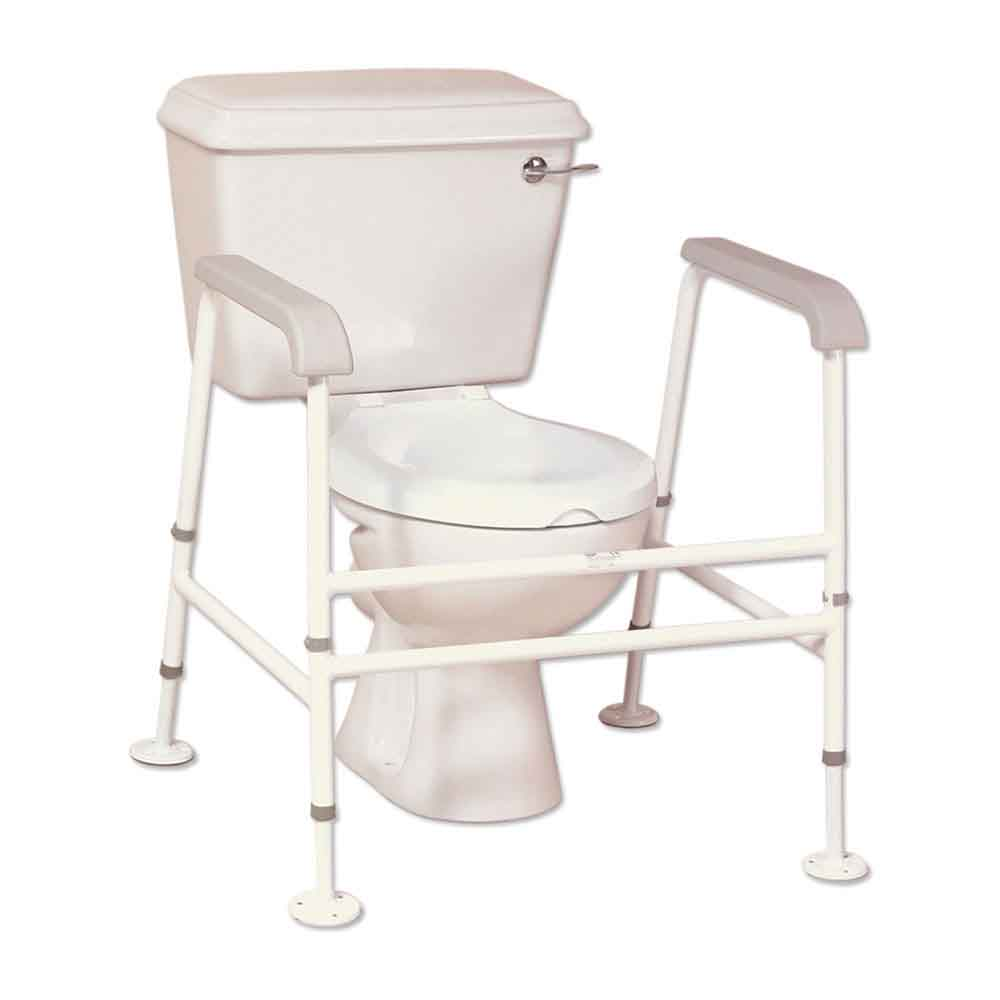 Nuvo™ Extra Wide Floor Fixed Toilet Frame