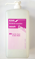 Ecolab Seraman Sensitive Gentle Cleansing Wash, 1 Litre (Single) thumbnail image 1