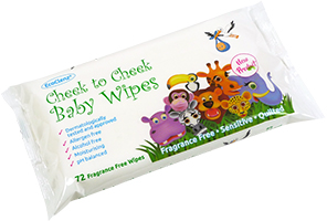 Fragrance Free Cheek to Cheek Baby Wipes (1 Pack) thumbnail image 1