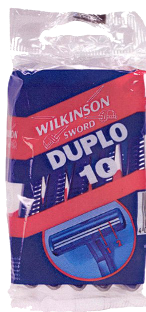 Wilkinson Sword Duplo Twin Blade Disposable 20 packs of 10 thumbnail image 1
