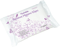 Feminine Flushable Hygiene Wipes thumbnail image 1