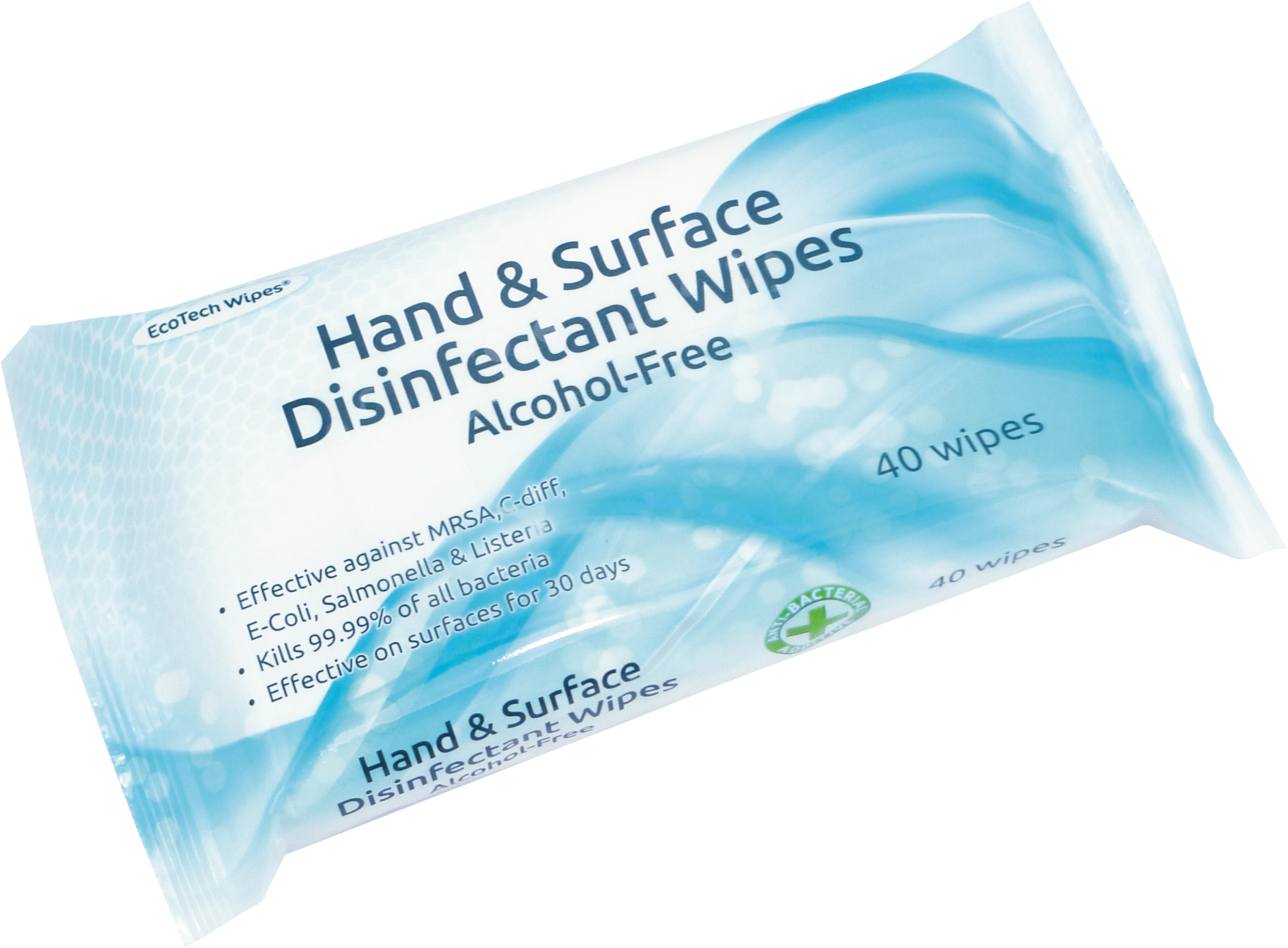 Alcohol Free Hand and Surface Disinfectant Wipes thumbnail image 1
