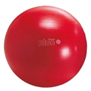 Gymnic Classic Plus Gym and Birthing Ball 55cm Red thumbnail image 1