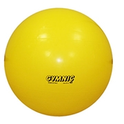 Gymnic Classic Plus Birthing Ball 75cm Yellow thumbnail image 1