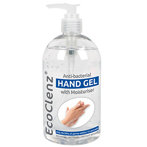 HAND SANITISER GEL WITH MOISTURISER - ANTI-BACTERIAL thumbnail image 1