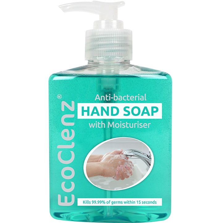 250ml Hand Soap with Moisturiser - Antibacterial Kills 99.9% of germs  thumbnail image 1