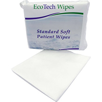 Soft Dry Patient Cleansing Wipes x 100 (1 Pack) thumbnail image 1